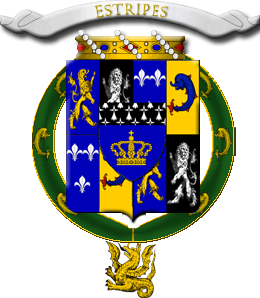 Armorial de l'Ordre de Sainct George Guidel10