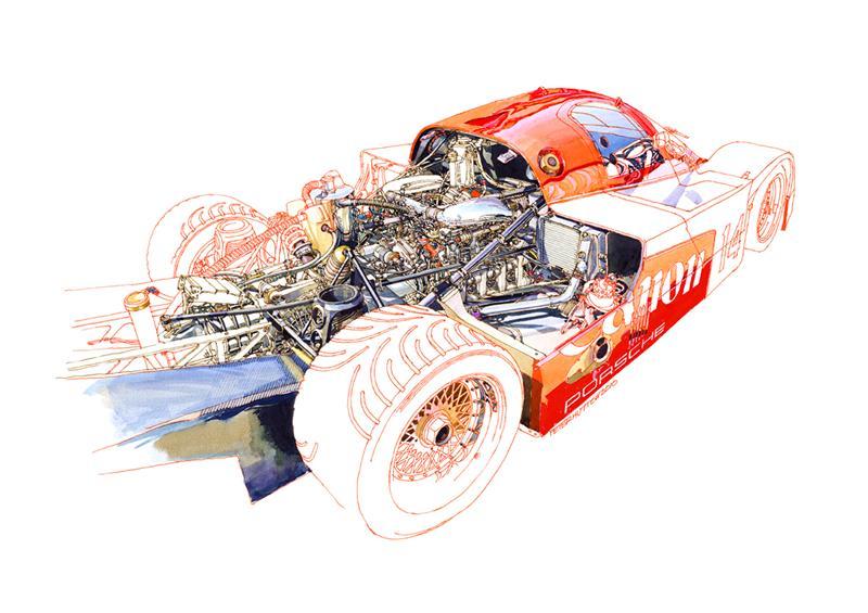 le sport auto  et l'art - Page 6 Porsch10