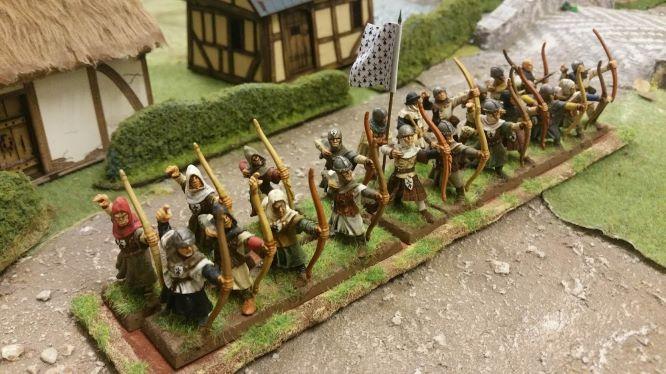 VENDS Archers médiévaux / bretonniens peints 28mm 20180826