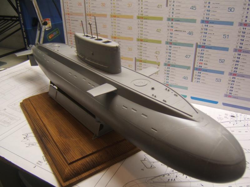 Sous-marin Russe KILO CLASS ATTACK par Redoutable au 1/144 - Trumpeter Dscf3013