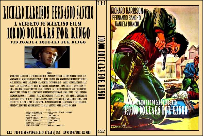100.000 dollars pour Ringo - Centomila dollari per Ringo - 1965 - Alberto de Martino 100_0010