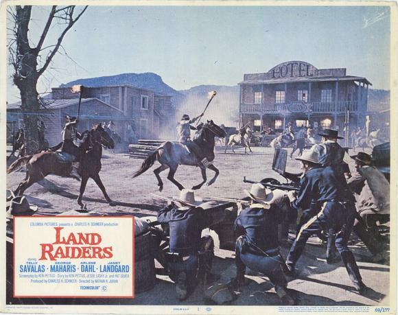 L' Ouest en feu (The Land Raiders), Nathan Juran, 1969. 14199_10