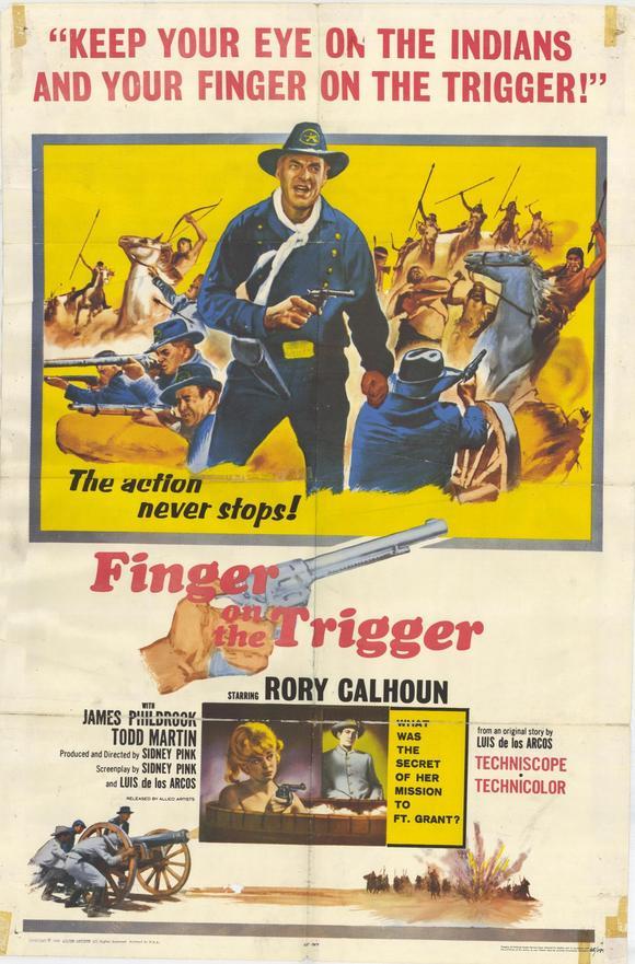 Le chemin de l'or - Finger on the Trigger - 1964 - Sidney W. Pink  20912810