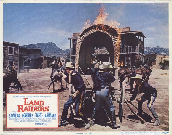 L' Ouest en feu (The Land Raiders), Nathan Juran, 1969. 26355_10