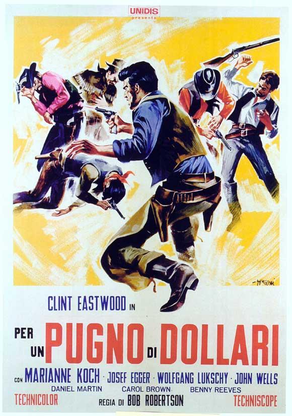 Pour une poignée de dollars - Per un pugno di dollari - 1964  - Sergio Leone 43670910