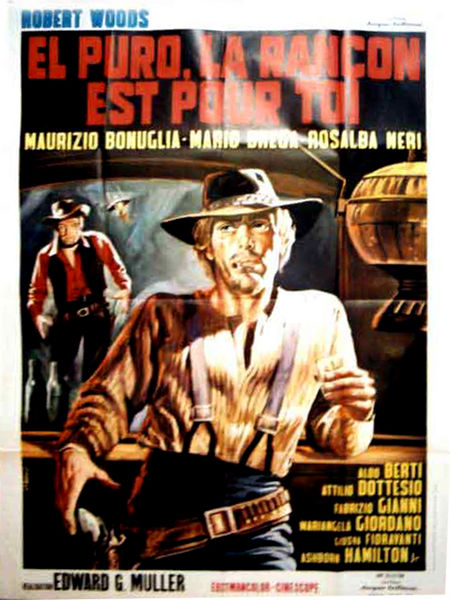 El Puro, La Rançon est à Toi (El Puro se sienta, espera y dispara) -1969 - Edoardo Mulargia 450px-10