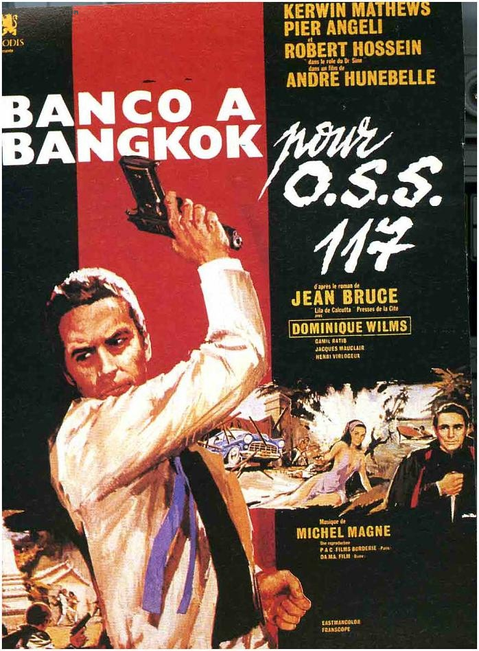 Banco à Bangkok pour OSS 117 - 1964 - André Hunebelle Banco_11