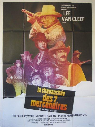 La chevauchée des 7 mercenaires . 1972 . George Mac Cowan . Chevau10