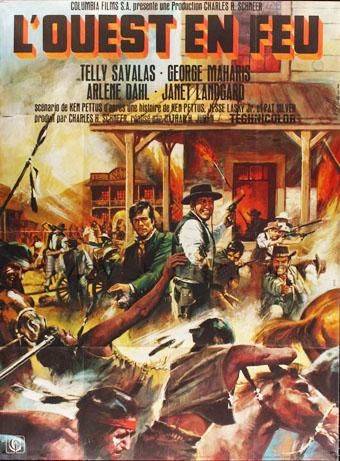 L' Ouest en feu (The Land Raiders), Nathan Juran, 1969. En137810