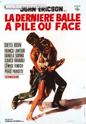La dernière balle à pile ou face . ( Testa o croce ) 1968 . Piero Pierotti . En147110