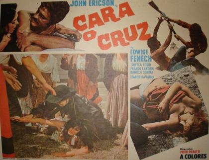 La dernière balle à pile ou face . ( Testa o croce ) 1968 . Piero Pierotti . Locand10