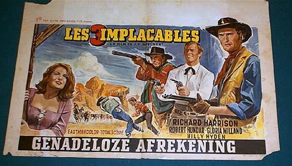 Les 3 implacables ( El sabor de la venganza ) –1963- Joaquim ROMERO MARCHENT Postim11