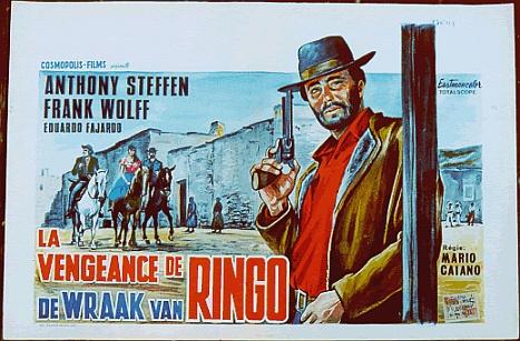 La vengeance de Ringo ( Ringo il volto della vendetta ) – 1966 – Mario CAIANO Ringov10