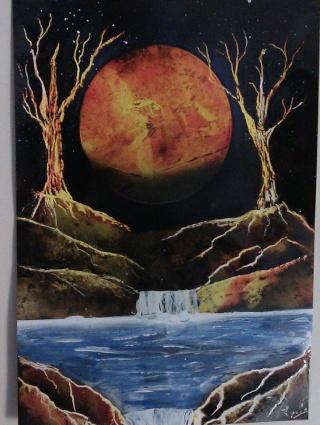 Le retour de loulou!!! et toutes mes peintures actuelles et à venir :) Arbres10