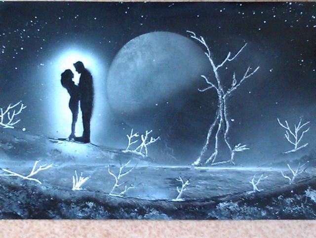 Le retour de loulou!!! et toutes mes peintures actuelles et à venir :) Lune_e12