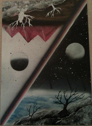 Le retour de loulou!!! et toutes mes peintures actuelles et à venir :) Parall16