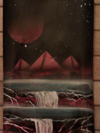 Le retour de loulou!!! et toutes mes peintures actuelles et à venir :) Pyrami11