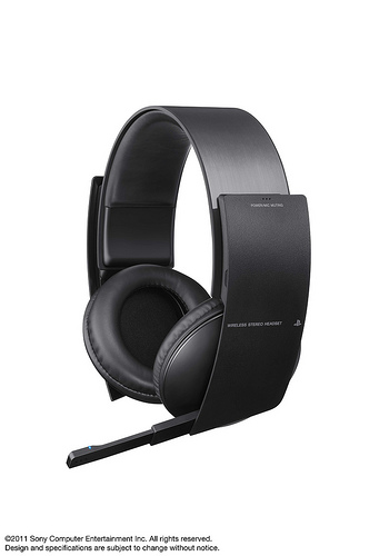 New PS3 wireless headset  57634510