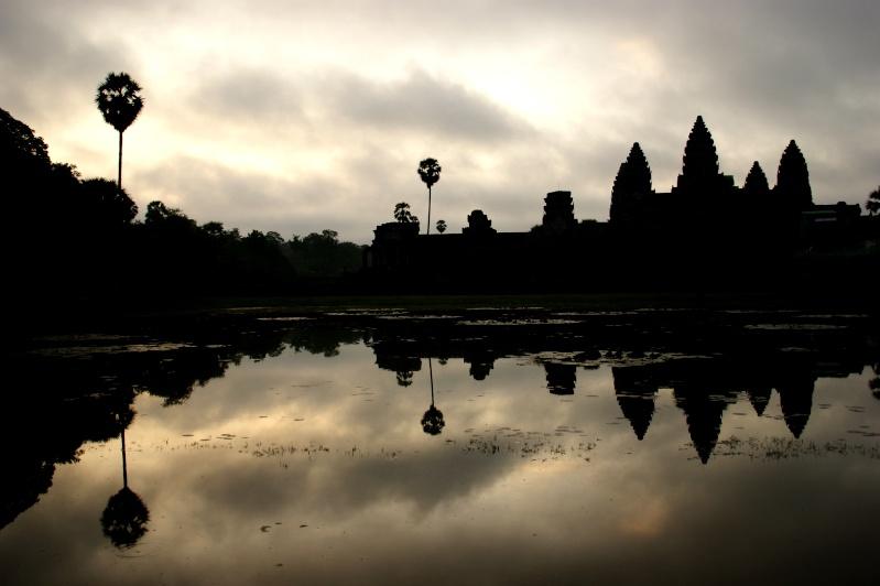 Photographie : Angkor Wat au lever du soleil Angkor10