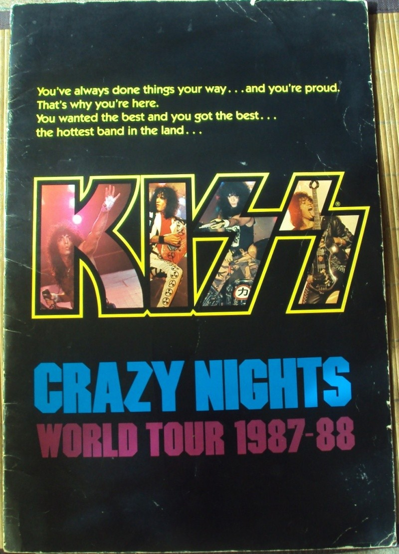 KISS, QUAND TU ME  TOUR.....NES EN BOOK! - Page 5 Dsc02151