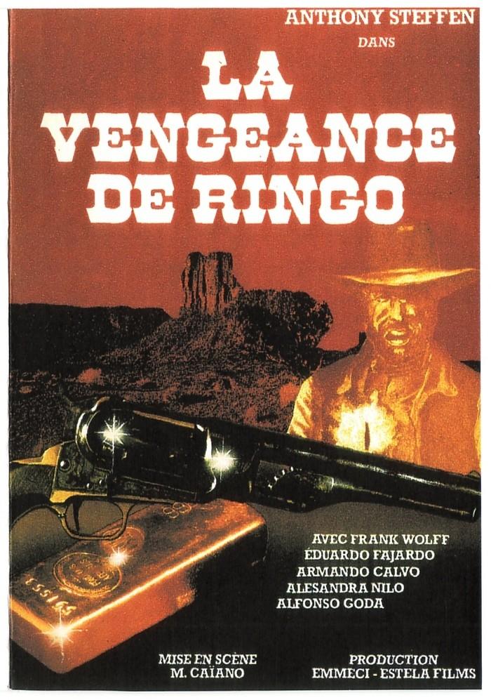 La vengeance de Ringo ( Ringo il volto della vendetta ) – 1966 – Mario CAIANO Affich11