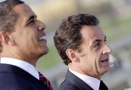Obama, Sarkozy: la guerre des ego. (Que le ton a changé depuis!) Sarkoz10