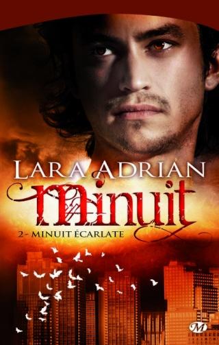 MINUIT (Tome 02) MINUIT ECARLATE de Lara Adrian 51yhii11