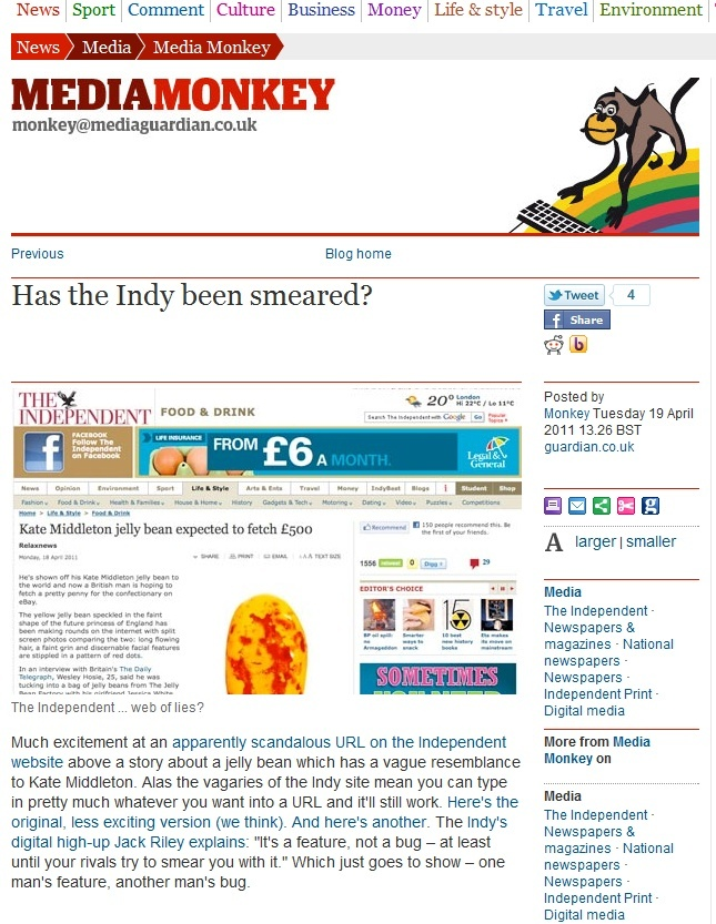 Kate Middleton jelly bean expected to fetch £500 (just LOVE the URL :-)) Has_th10