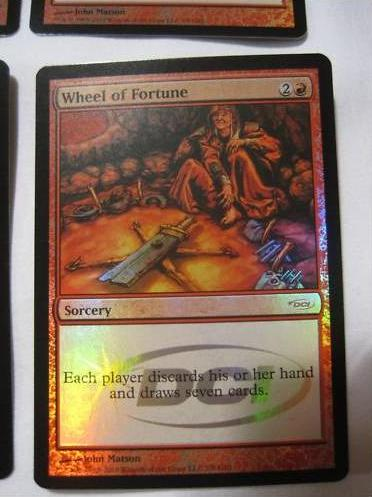 Cartes promos, Judges, Gateway, FNM ... Wheel10