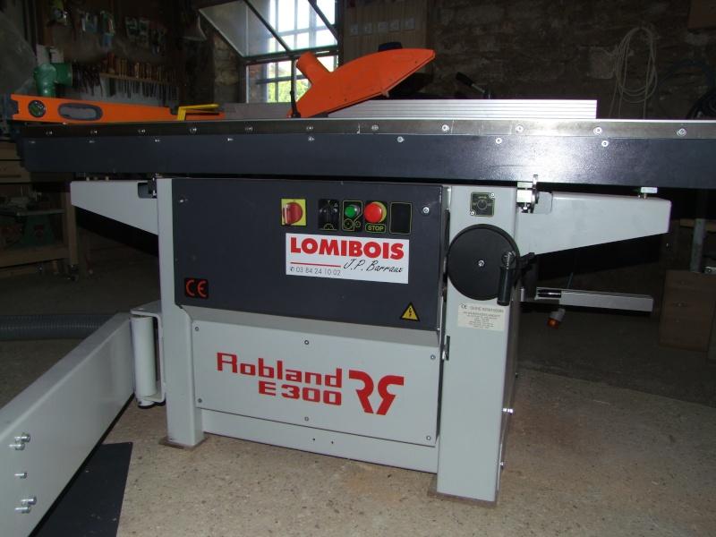 Scie à format Robland E 300 Dscf4011