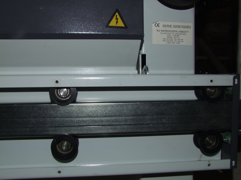 Scie à format Robland E 300 Dscf4013