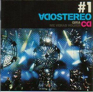 """Soda Stereo - Gira """"Me veras volver"""" CD1 Cd110"""