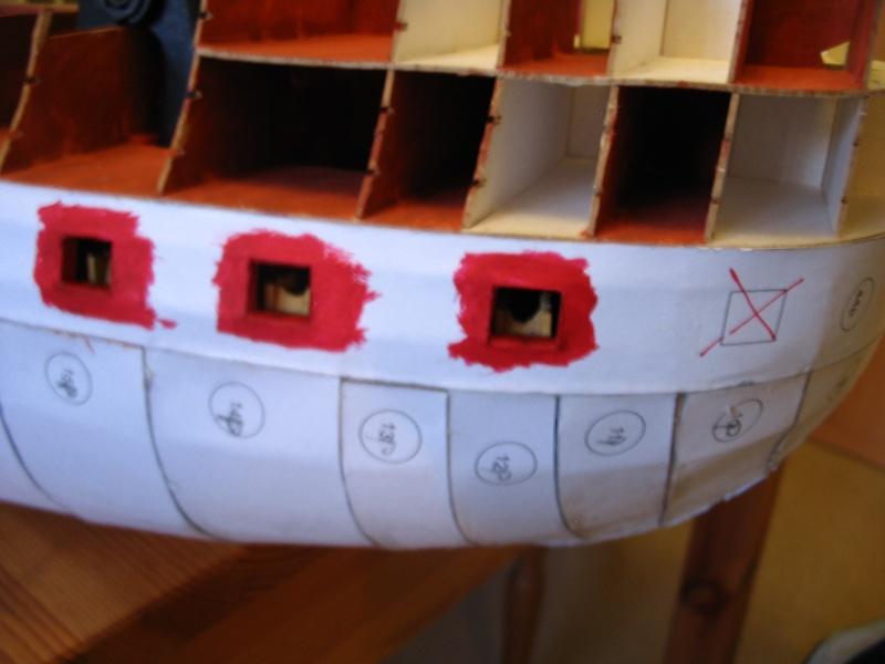 Kartonmodell HMS VICTORY von Shipyard in 1:96 - Seite 2 Fehler10