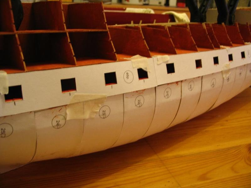 Kartonmodell HMS VICTORY von Shipyard in 1:96 - Seite 2 Pforte13