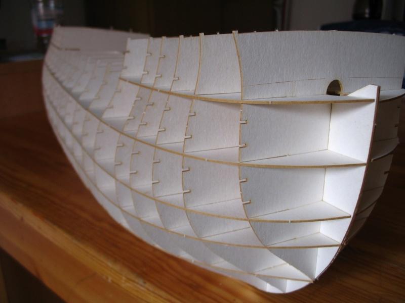 Kartonmodell HMS VICTORY von Shipyard in 1:96 Skelet18