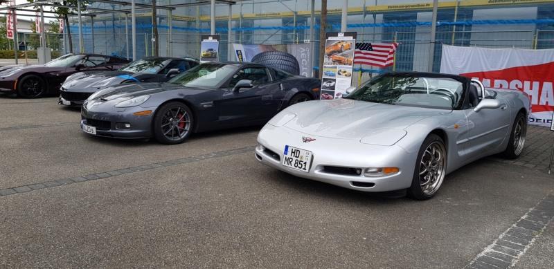 Corvettentreffen des Corvette Club Rhein-Neckar in St. Leon-Rot 2.9.2018 20180919