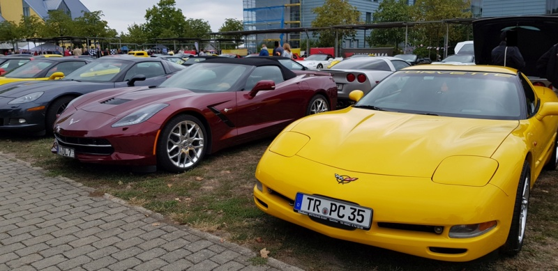 Corvettentreffen des Corvette Club Rhein-Neckar in St. Leon-Rot 2.9.2018 20180936