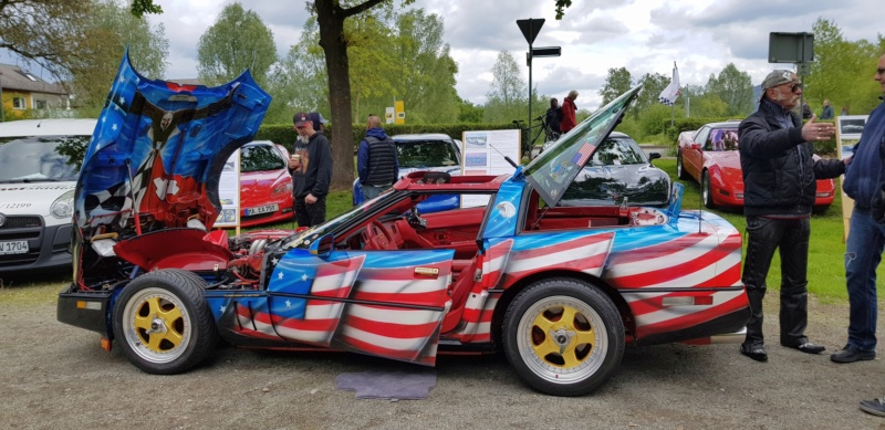 16. Corvette Sunday der Corvettenfreunde Kurpfalz in Ladenburg 5.5.2019 20190106
