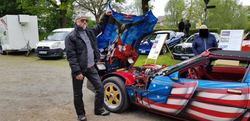 16. Corvette Sunday der Corvettenfreunde Kurpfalz in Ladenburg 5.5.2019 20190206