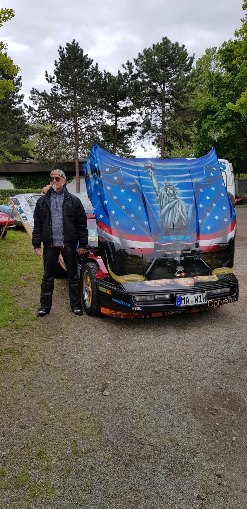 16. Corvette Sunday der Corvettenfreunde Kurpfalz in Ladenburg 5.5.2019 20190207