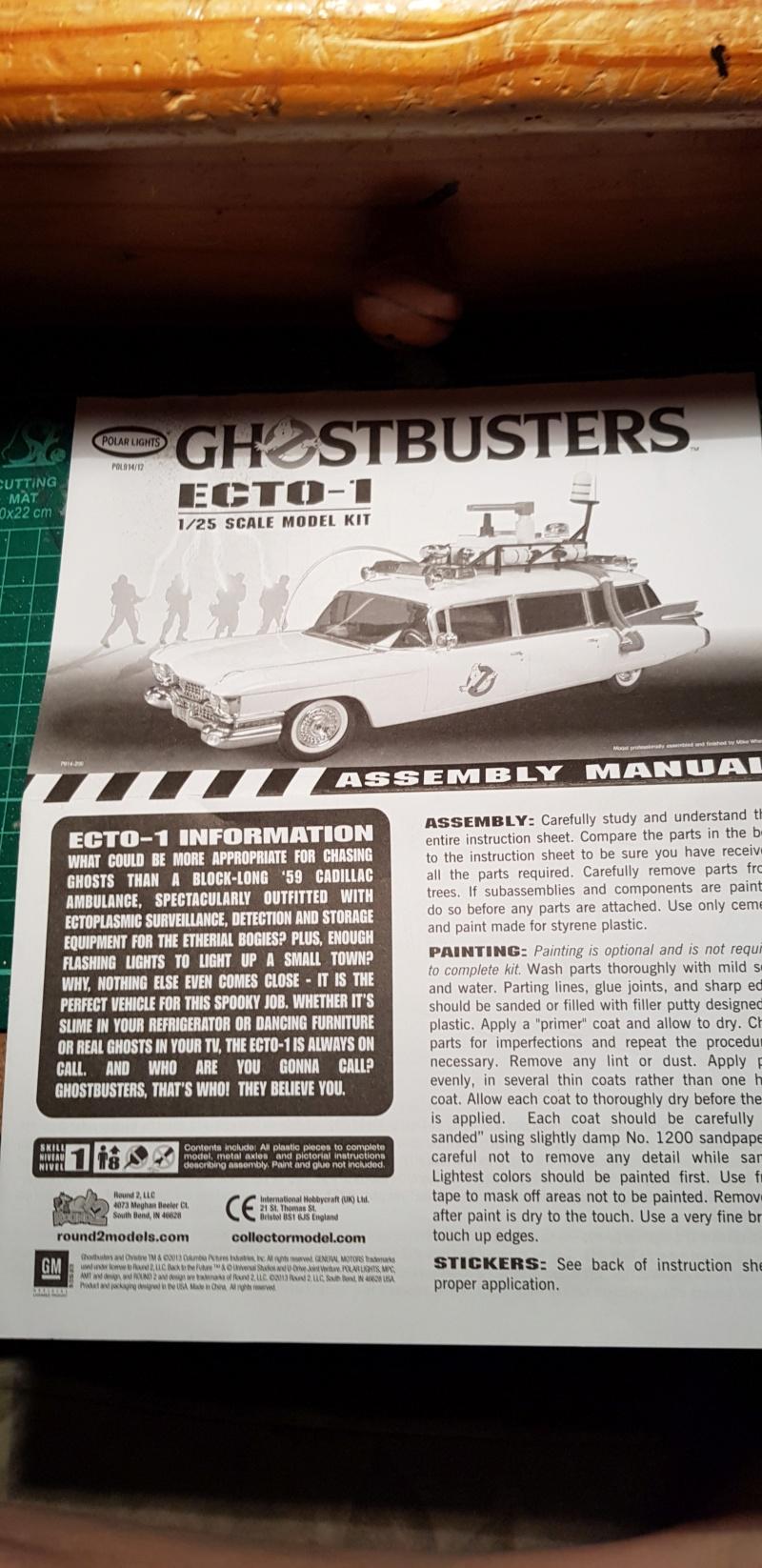 Ghostbusters Ecto 1 1:25 von Polar Lights 20190455