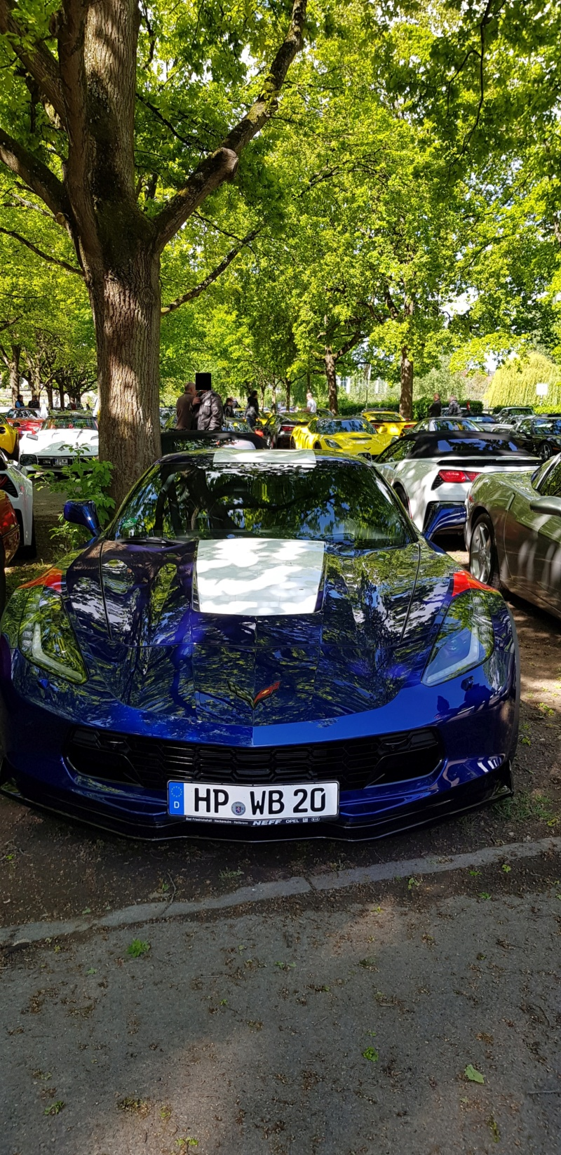 16. Corvette Sunday der Corvettenfreunde Kurpfalz in Ladenburg 5.5.2019 20190510