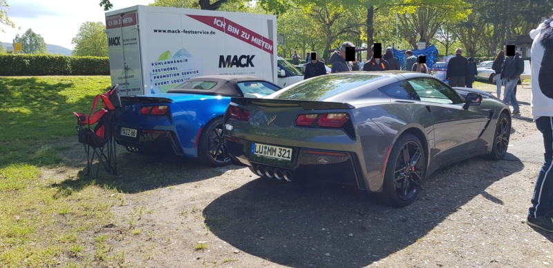 16. Corvette Sunday der Corvettenfreunde Kurpfalz in Ladenburg 5.5.2019 20190515