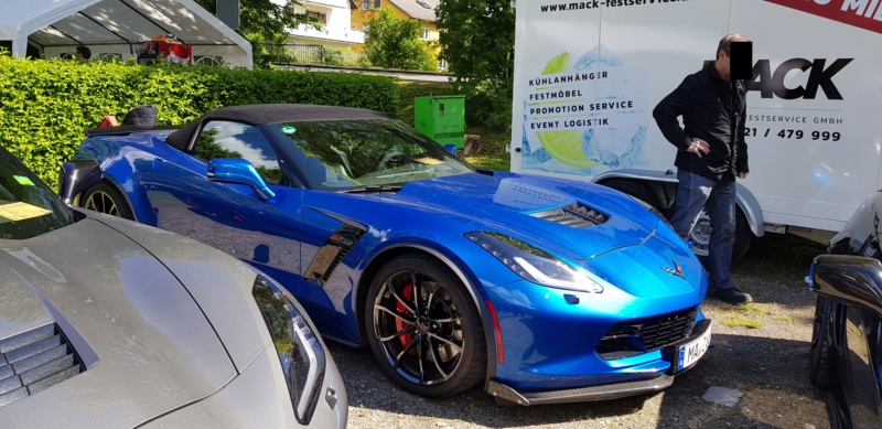 16. Corvette Sunday der Corvettenfreunde Kurpfalz in Ladenburg 5.5.2019 20190517
