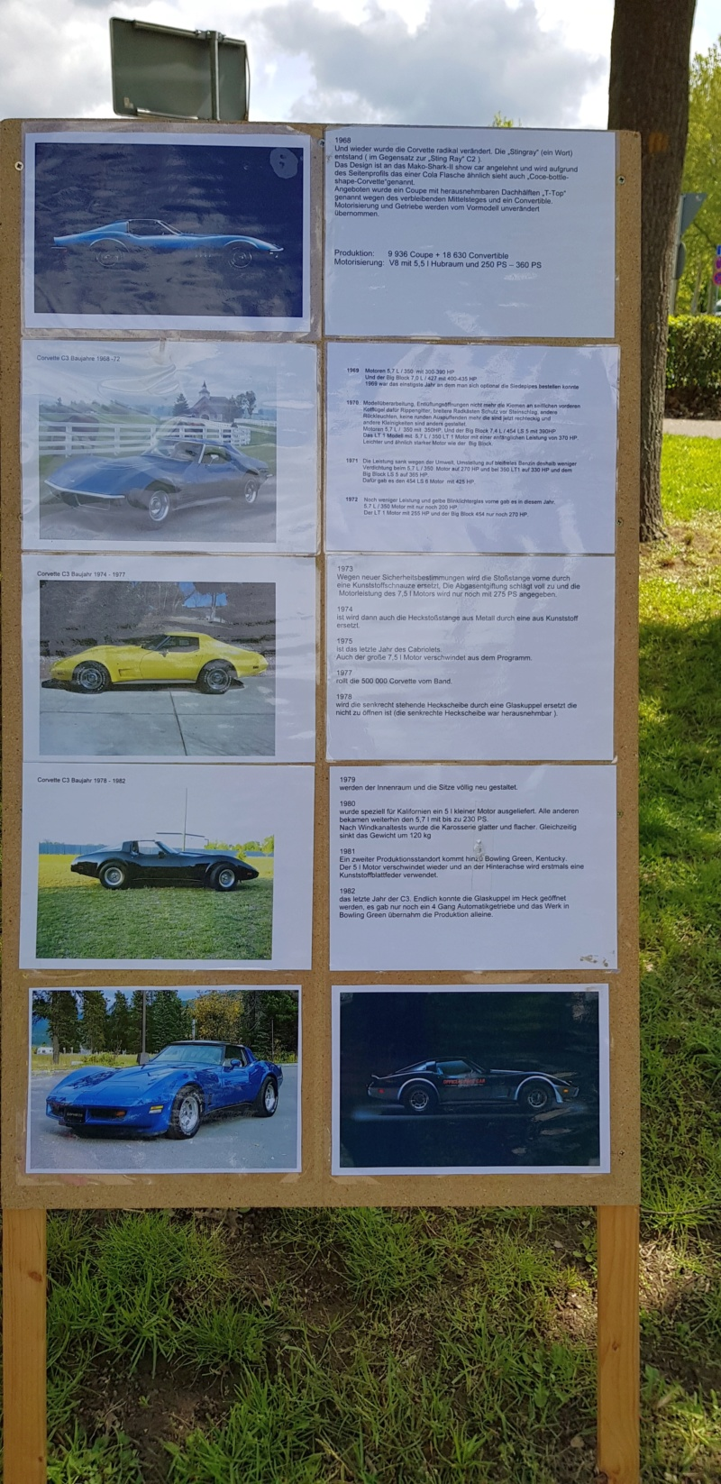 16. Corvette Sunday der Corvettenfreunde Kurpfalz in Ladenburg 5.5.2019 20190528