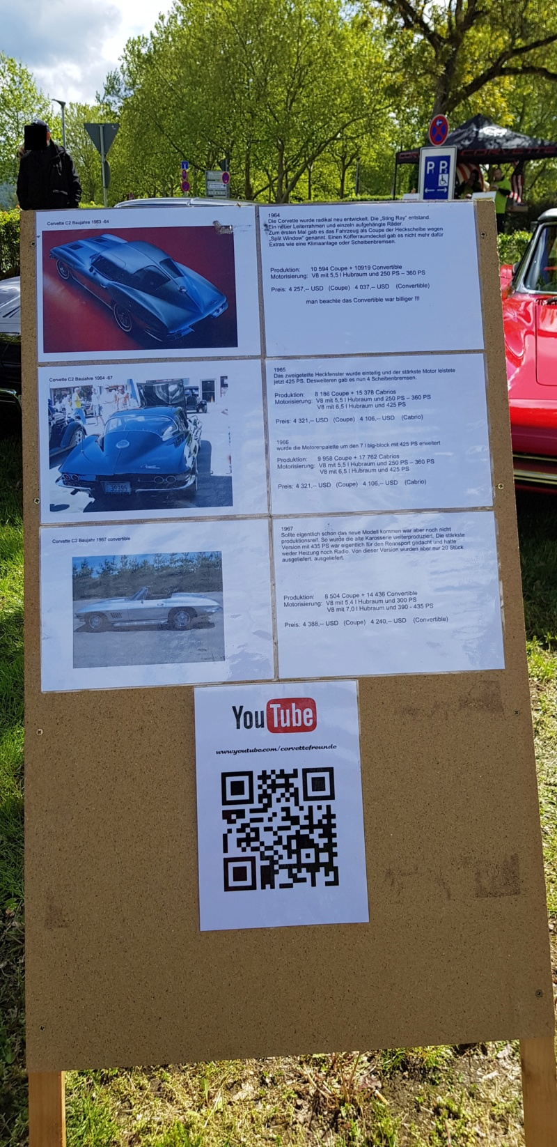 16. Corvette Sunday der Corvettenfreunde Kurpfalz in Ladenburg 5.5.2019 20190530