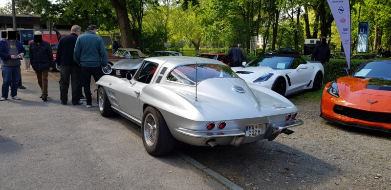 16. Corvette Sunday der Corvettenfreunde Kurpfalz in Ladenburg 5.5.2019 20190535
