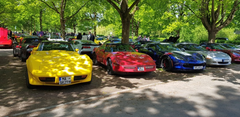 16. Corvette Sunday der Corvettenfreunde Kurpfalz in Ladenburg 5.5.2019 20190544