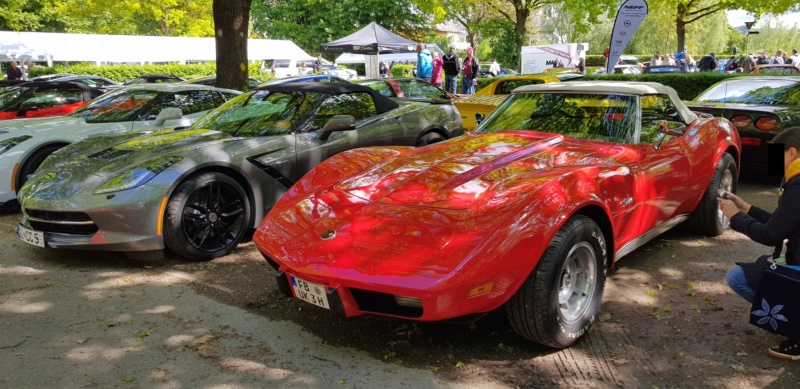 16. Corvette Sunday der Corvettenfreunde Kurpfalz in Ladenburg 5.5.2019 20190548