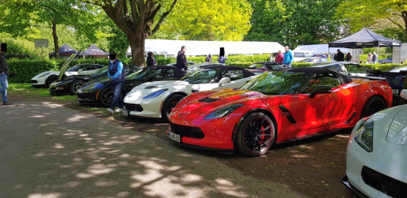 16. Corvette Sunday der Corvettenfreunde Kurpfalz in Ladenburg 5.5.2019 20190550